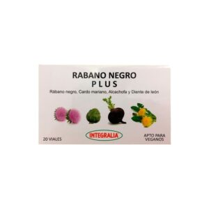 Rabano Negro plus 20x10ml Integralia