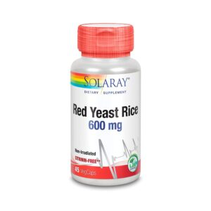 Red Yeast Rice 600mg 45vcaps Solaray