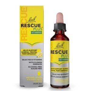 Rescue Plus Vitaminas 20ml Bach