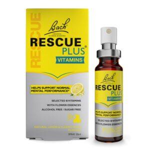 Rescue Plus Vitaminas spray 20ml Bach