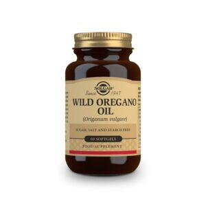 Aceite de oregano silvestre (Origanum vulgare) 60 perlas Solgar