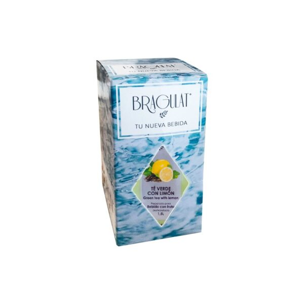 Bebida soluble te verde & limon 15x9g Bragulat