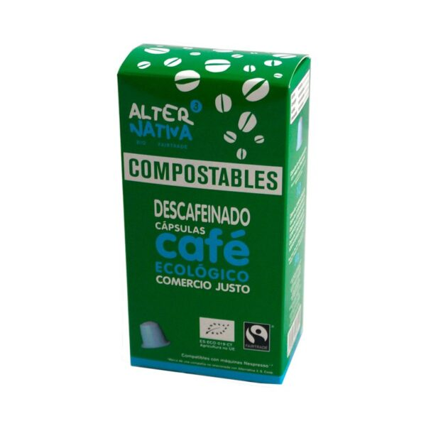 Cafe descafeinado capsula compostable 10x5g Alternativa 3
