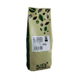 Cafe soluble descafeinado liofilizado bio 500g Alternativa 3