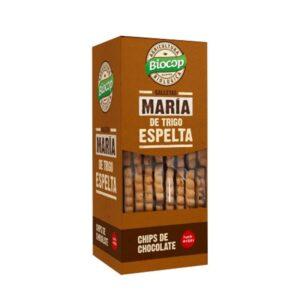 Galletas maria de espelta y chips chocolate Bio 177g Biocop