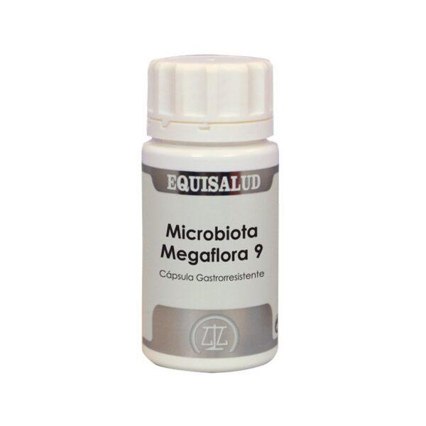 Microbiota Megaflora 9 60 capsulas Equisalud
