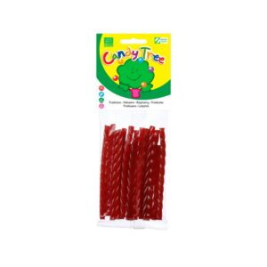 Trenza regaliz sabor frambuesa bio 75g Candy Tree