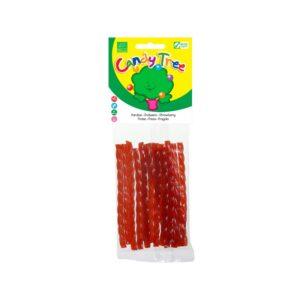 Trenza regaliz sabor fresa bio 75g Candy Tree