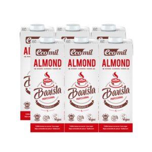 Bebida de almendras Barista Almond Bio 6x1L Ecomil