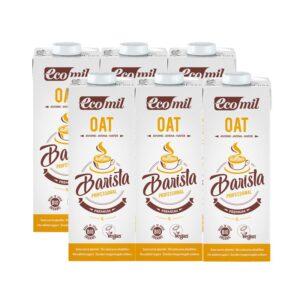 Bebida de avena Barista Oat Bio 6x1L Ecomil