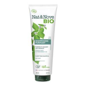 Champu purificante cabello graso Bio 250ml Nat&Nove