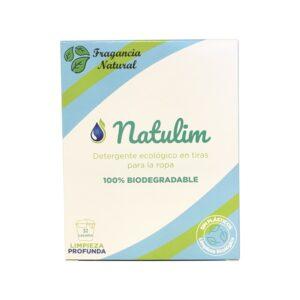 Detergente tiras biodegradable natural 32 lavados Natulim