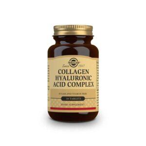 Acido Hialuronico Complex 120mg 30 comprimidos Solgar