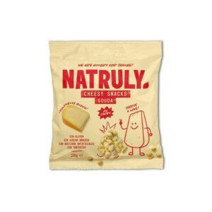 Cheesy Snack Queso Gouda Crujiente 20g Natruly