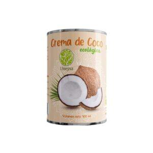 Crema de coco 22%MG Bio 400ml Uneysa