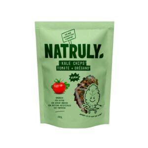 Kale chips tomate y oregano Bio 30g Natruly