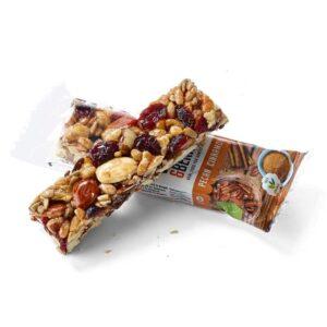 Barrita nueces pecan y canela Bio 15x30g Nuts&Berries