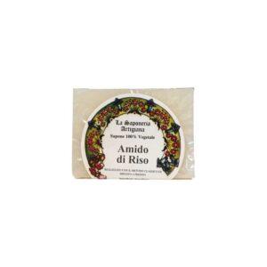 Jabon de almidon de arroz 100g La saponeria artigiana