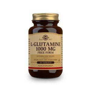 L-Glutamina 1000mg 60 comprimidos Solgar