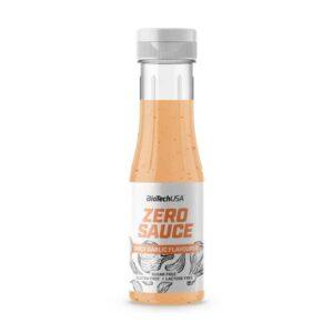 Salsa Ajo picante Zero 350ml BiotechUSA
